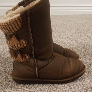 Size nine bear paw boots